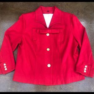 CAbi Beau Red Blazer